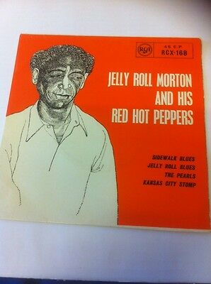 Jelly Roll Morton & Red Hot Peppers-Uk Rca  4 Trax Ep-See Scans