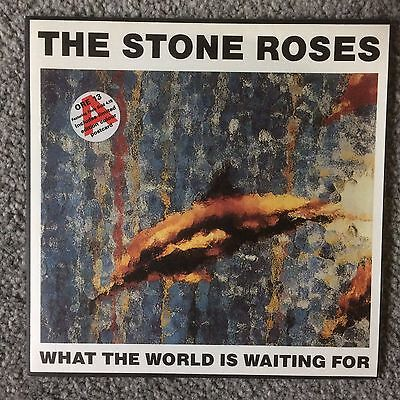 The Stone Roses What The World Is Waiting For 7 Inch Single With Postcard