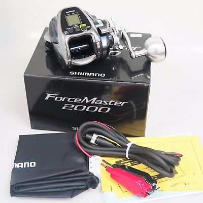 2016 NEW SHIMANO Force Master 2000 Right Big Electric Reel Limited Time Offer