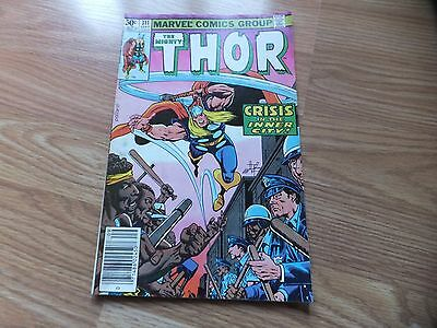 The Mighty Thor lot of 2 issues, #311 and #331