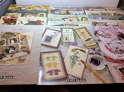 Penny Black Rubber Stamp Cataloges, 14 In Total.