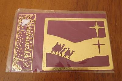 Dreamweaver WISE MEN Christmas Religious Stencil Template LL306