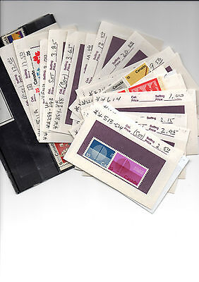 Canada Stamp Collection Lot Mint