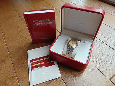 Omega Constellation Automatic Steel & 18K Gold Gents Watch