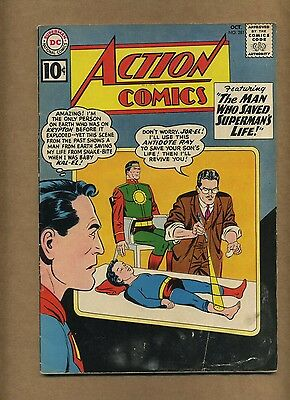 Action 281 (Solid!) Superman; Supergirl; Silver Age; DC Comics; 1961 (c#14429)