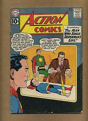 Action 281 (Solid!) Superman; Supergirl; Silver Age; DC Comics; 1961 (c#14430)