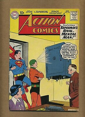 Action 272 (Solid!) Superman; Supergirl; Silver Age; DC Comics; 1961 (c#14420)