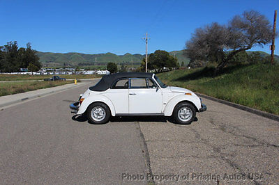 1978 Volkswagen Beetle - Classic Beetle Convertible 1.6 Litre Fuel Injection 1978 Volkswagen Beetle Convertible, Restored, Looks and drives great, no reserve
