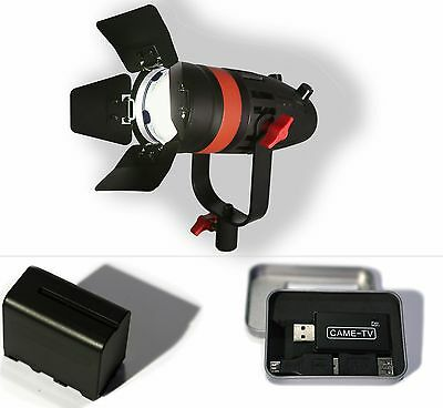 Boltzen 55w Fresnel LED with WI-FI and BATTERY (Daylight)