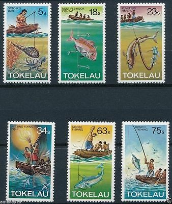 Tokelau 1982 Fishing Methods  MNH