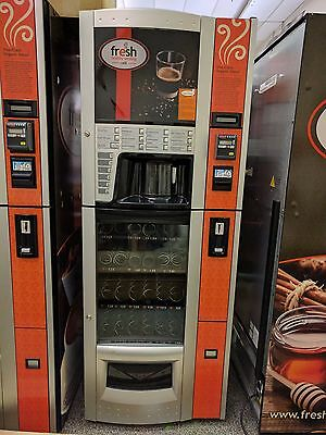 Fresh Healthy Vending Cafe - Healthy Snack and Coffee Vending Machine