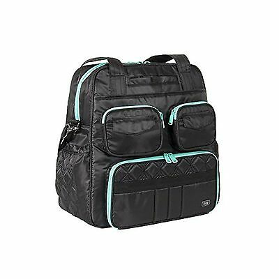 Lug Women's Puddle Jumper Overnight (Victory) Gym Bag Midnight Black One Size