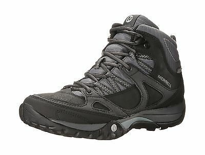 Merrell Women's Azura Lapis Mid Waterproof Trail/Hiking Shoe Black 6.5 M US