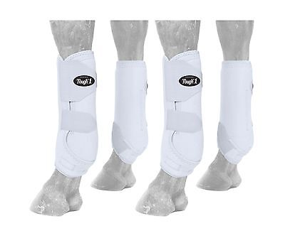Tough 1 Extreme Vented Sport Boots Set White Large