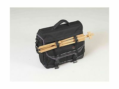 Martin 66-JS1007A Just Stow-It Ultimate Messenger Bag for the Arts Black