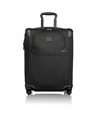 Tumi Alpha 2 Continental Expandable 4 Wheel Carry-On Black One Size
