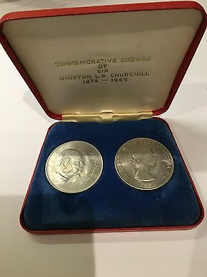 Sir Winston Churchill 1965 commemorative coins (ref09)