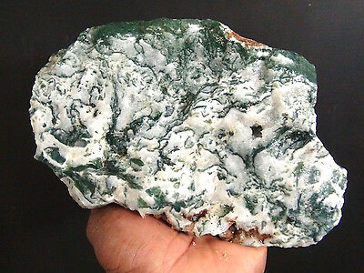 White Tree Moss Agate Rough 3 Pounds - Brazil