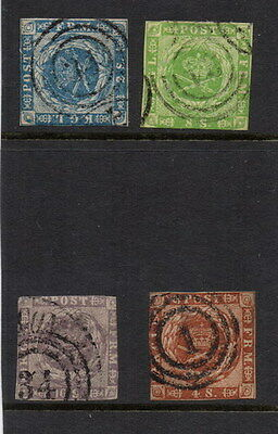 Stamps Denmark selection earlies mixed condition.