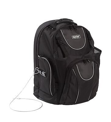 Vaultz Locking Backpack with Tether Black (VZ00747)