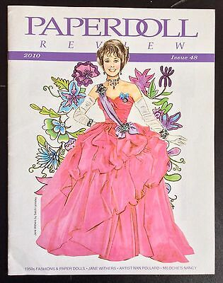 Paper Doll Review Magazine, #48, 2010, Model Dovima Paper Dolls, Jane Withers