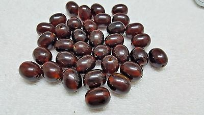 lot of 36 Bakelite  Cherry beads for worry  - flawless - tested - 74 g -16 mm