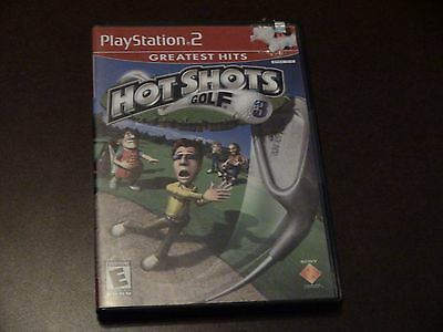 Hot Shots Golf 3 PS2 Playstation 2 Game Complete Tested