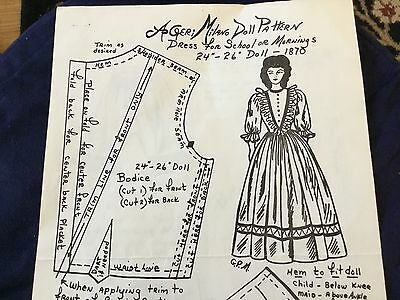 Geri Milano Doll Clothing Pattern 16 to 18 in.