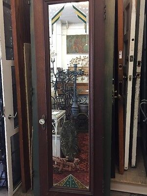 Old Art Deco Mirrored Door