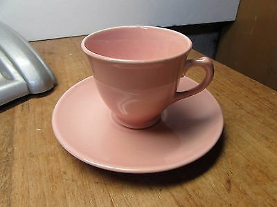 Vintage Luray Pastels After Dinner Demitasse Sharon Pink Cup And Saucer