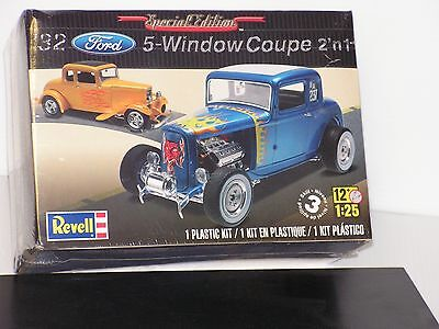 Revell  #85-4228 1/25 1932 Ford 5 Window Coupe Kit F/s