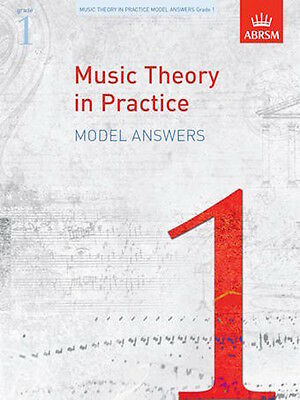 ABRSM Music Theory In Practice Model Answers Grade 1, 2, 3, 4 & 5 Available