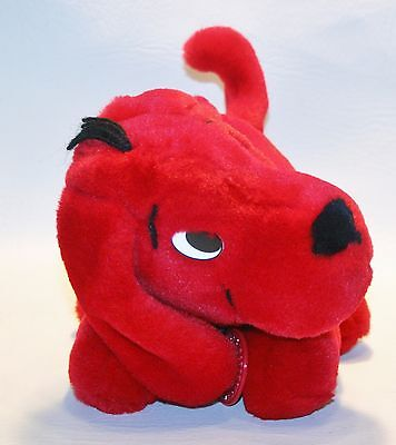 "Scholastic Clifford the Big Red Dog 10"" plush Stuffed Animal Lovey Puppy"