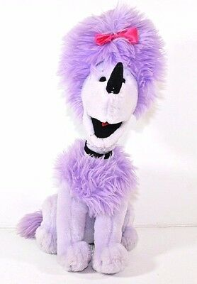 Kohl's Cares  Cleo The Purple Poodle Plush From Clifford The Big Red Dog 12""