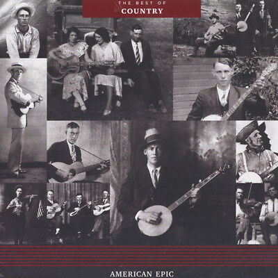 V.A. - American Epic: The Best Of Country (Vinyl LP - 2017 - US - Original)