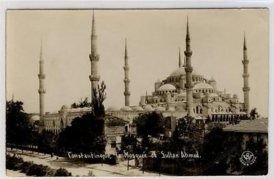 AK Istanbul, Constantinople, Sultan Ahmed Moschee 1932