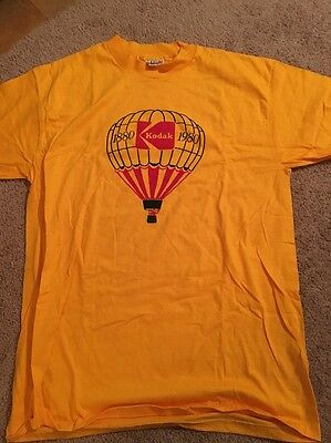 Vintage Kodak Centennial T Shirt 1980 Classic Colors Never Worn Size XL