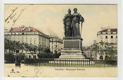 AK Geneve, Genf, Monument National, 1905
