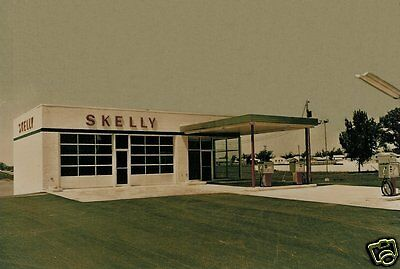 5x7  SKELLY GAS SERVICE STATION PUMPS SERVICE REPAIR BAY'S