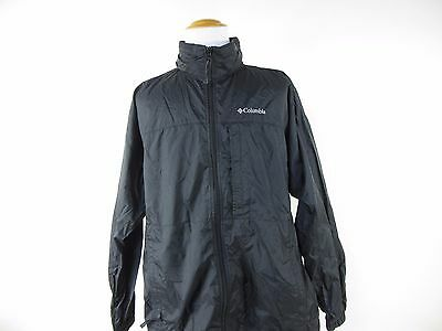 COLUMBIA Men's Lined Zip Front Lightweight Hooded Jacket SIZE XL Extra Large
