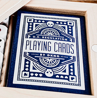 Blue Wheel Playing Cards Deck by Art of Play and Murphy's Magic