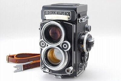 【MINT in CASE】Rolleiflex 2.8 F TLR WHITE FACE Planar 80mm F2.8 From Japan 522