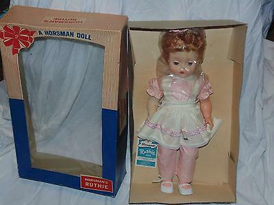 Vintage Horsman Doll Candy Striper Original Box Unused