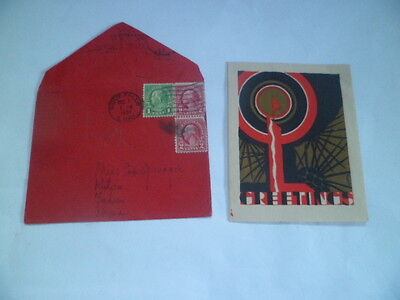 1931 Card/envelope From Missionary  S. Dakota Sent To Kutien,fukien, China,