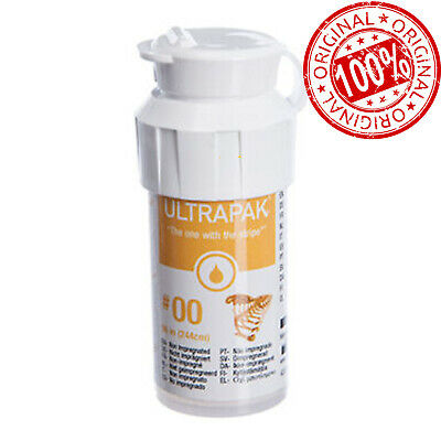 Ultrapak Dental Gingival Retraction Knitted Cord Packing Ultradent Size 00