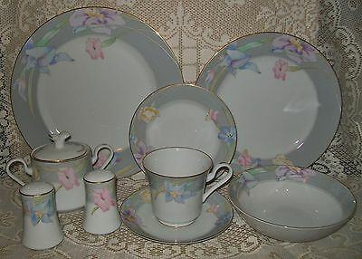 LOVELY 39pc MIKASA 'CHARISMA GRAY' DINNER SET 6 person *PICK UP SA 5041 ONLY*