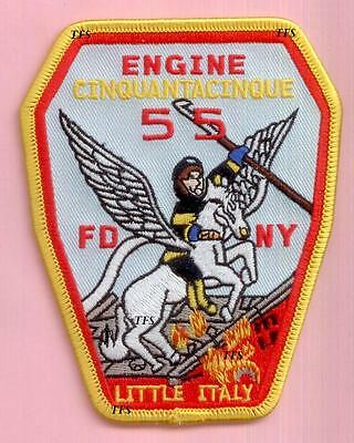 New York City Fire Dept Engine 55 Patch Manhattan