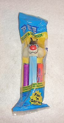 PEZ Dispenser - Looney Tunes - Sylvester The Cat - Light Blue Stem 5 in. (New, S
