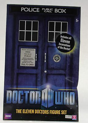 Character Options Doctor Who 11 Doctors Action Figure Collector Set
