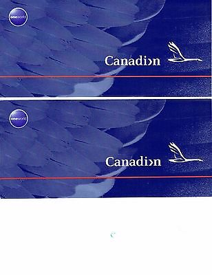 Canadian AirLines  Goose & One World Livery Ticket Jackets